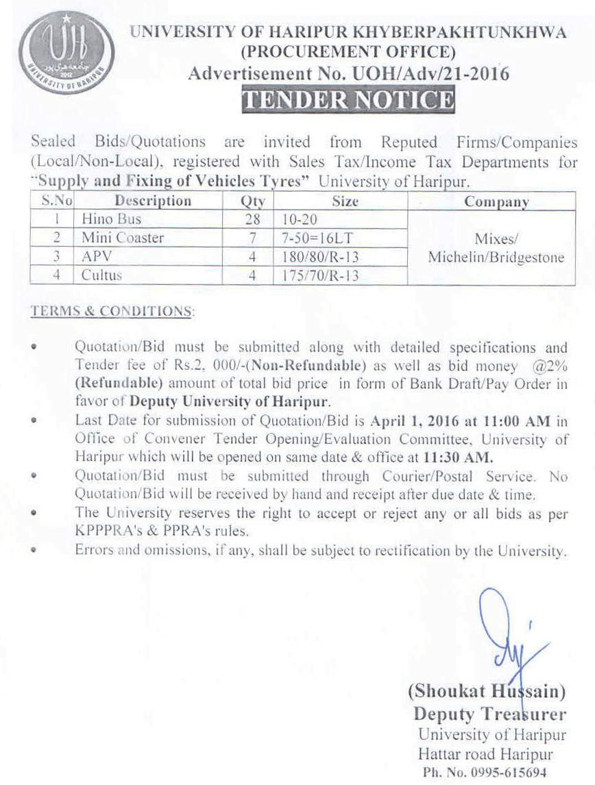 The University of Haripur